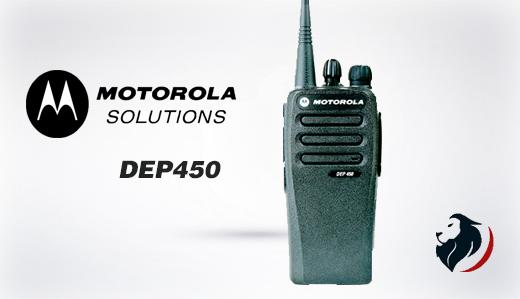 Radio DEP450 de motorla -Insignia Link México