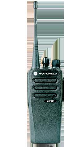 Radio DEP450 digital de motorola