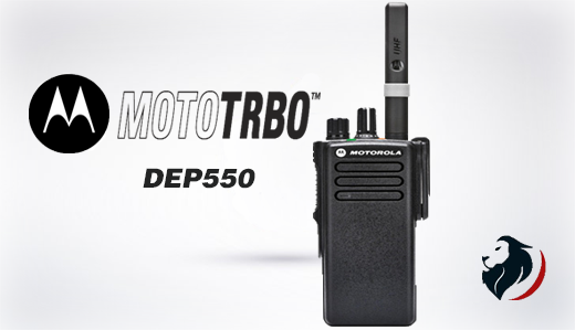 DEP-550 Radio digital de Motorola-Insignia Link México