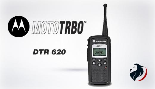 Radio digital DTR 620 de motorola -Insignia Link