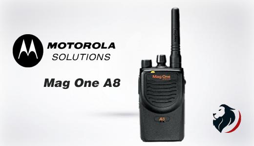 Mag One A8 Radio portátil de Motrola-Insignia Link México