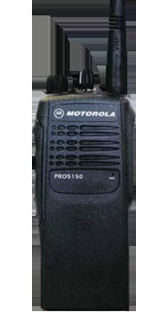 PRO5150 portátil motorola