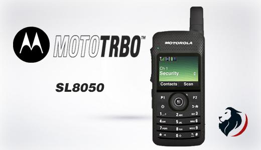 Radio SL8050 portatil de motorola-Insignia Link