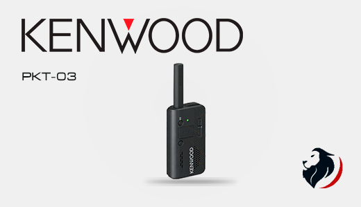 PKT-03 radio portátil kenwood -Insignia Link México
