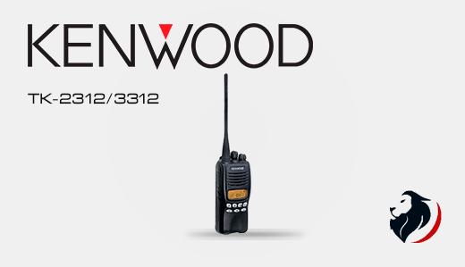 tk-2312/3312 radio portátil kenwood