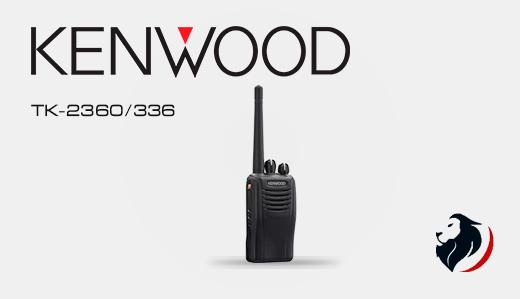TK-2360/3360 radio portátil kenwood