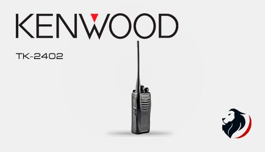 tk-2402 radio kenwood de alto desempeño
