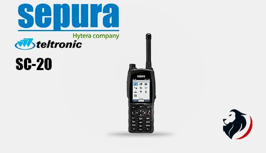 SC20 radio tetra portatil de SEPURA-Hytera-Insignia Link México