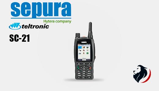 SC21 radio TETRA Portátil SEPURA by Hytera -Insignia Link México