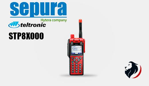 STP8X000 radio tetra portátil SEPURA-Insignia Link México