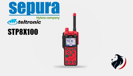 STP8X100 radio TETRA portatil SEPURA-Insignia Link México