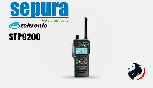 STP9200 radio portátil TETRA-Insignia Link México