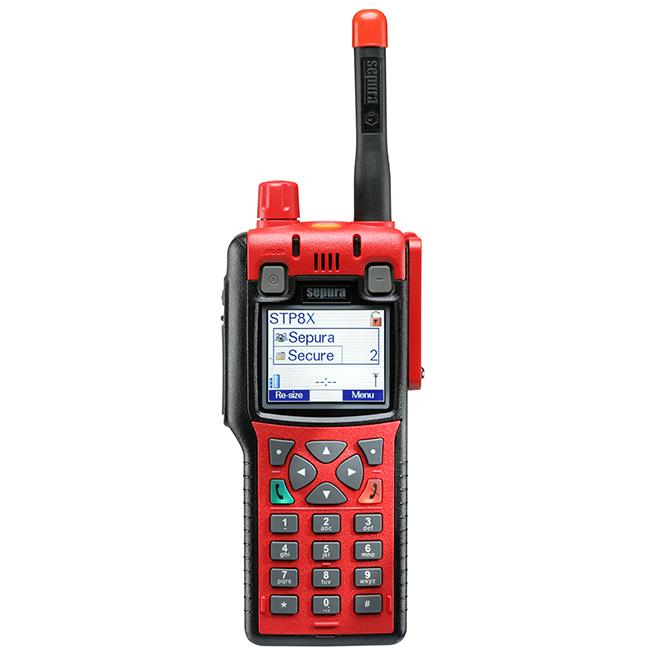 STP8X000 radio terminal TETRA de SEPURA -Hytera