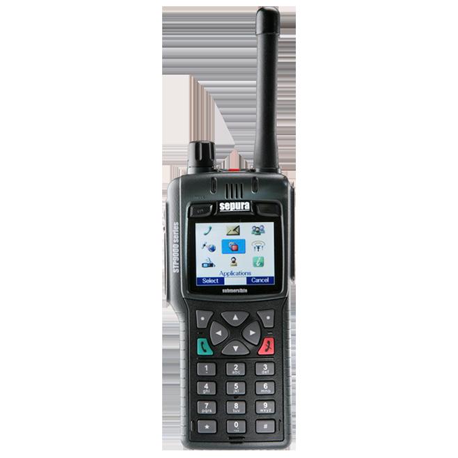 STP9000 radio portatil TETRA -Insignia Link México