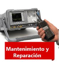 Mantenimiento y reparación de radios