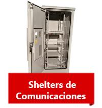Shelters de comunicación venta e instalación