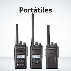 Radiocomunicación-radios portátiles de 2 vías