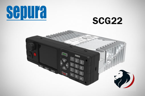 SCG22 Radio Móvil Sepura by Hytera