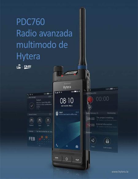PTC760 hytera sepura tetra radio
