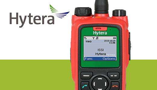 Radio PT790Ex Hytera Intrinseco
