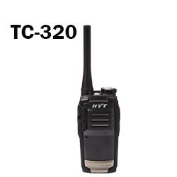 Radio TC-320 portátiles Hytera analógico