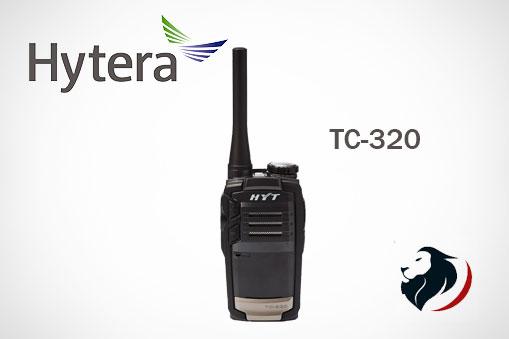 TC-320 Hytera portátil soluciones eficientes