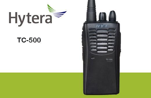 Radio TC-500 Hytera analógico