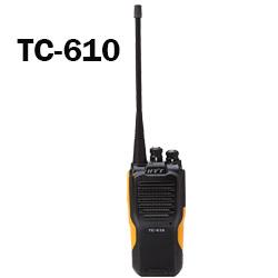 Radios portátiles Hytera TC-610p