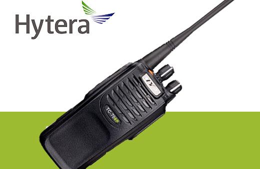 Radio TC-700 analogico hytera, acciones claras personal eficiente.
