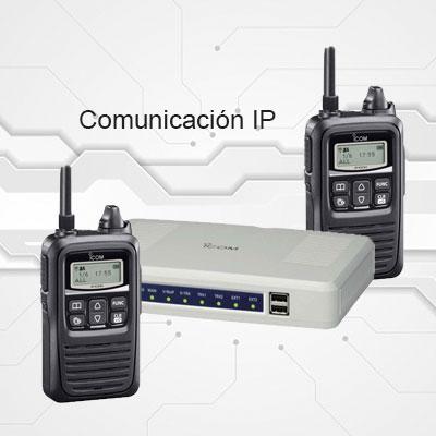 Comunicación para radios de dos vías IP
