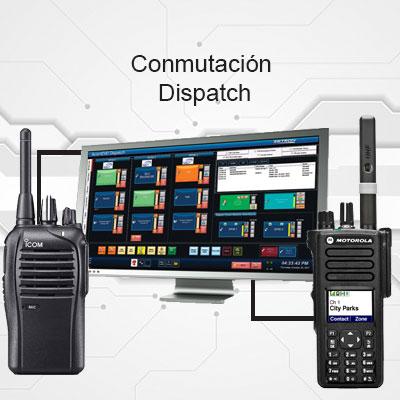Intercomunicación para radios de dos vías