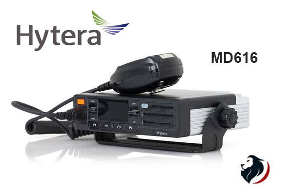 MD616 hytera radio móvil DMR digital