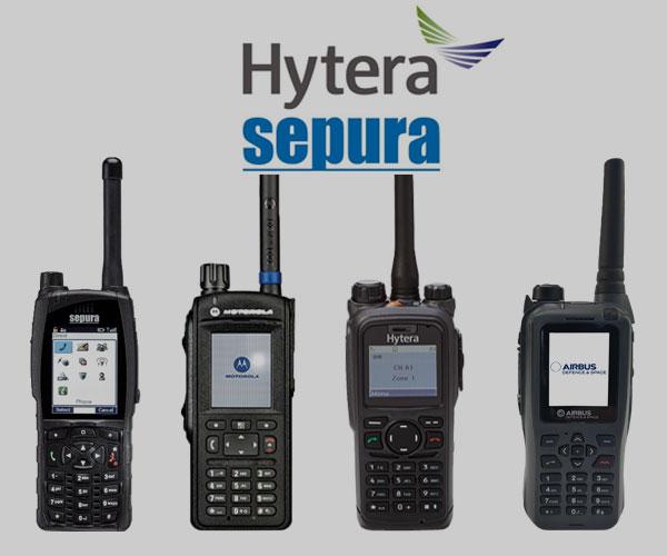 Radios TETRA Insignia Link-Radiocomunicación para situación de crisis