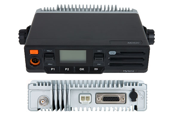 MD626 hytera móvil radio pseudo trunking GPS