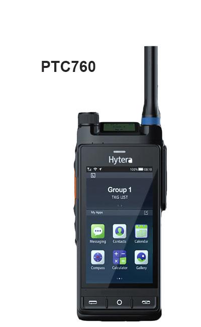 PTC760 portátil tetra hytrera