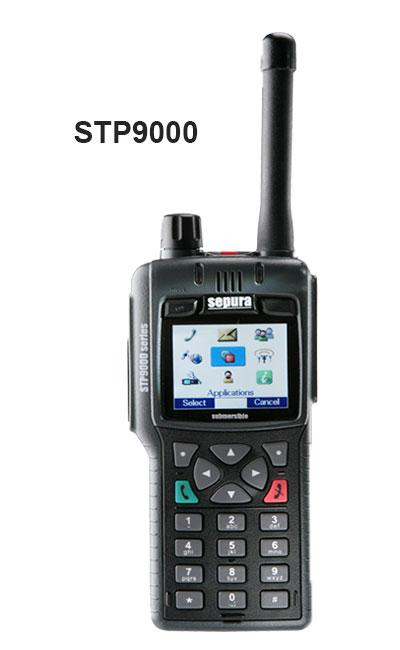 Radios STP9000 Portátiles Tetra Sepura